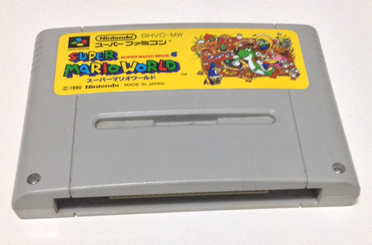Super Mario World for SFC!