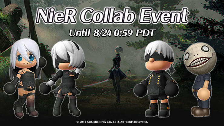 NieR: Automata invades Spelunker World through August