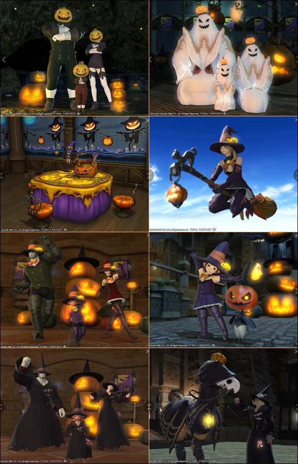 My favorite time in MMOs: Halloween