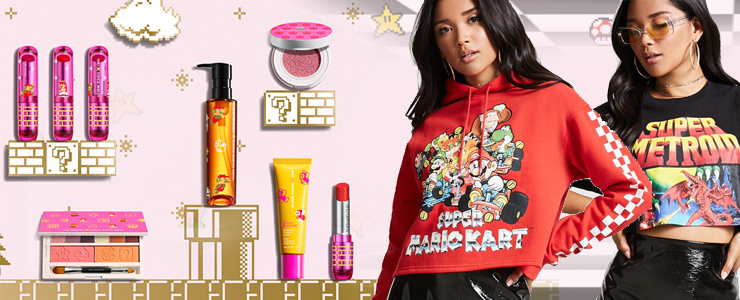Nintendo grows its Fashion Brand with Forever 21, Shu Uemura